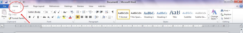 Bagian - bagian dari Ms.Word dan fungsinya - GUDANG MAKALAH