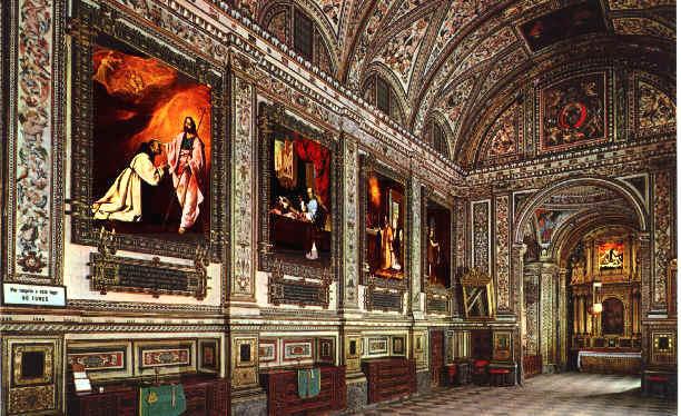 Sacristía del Real Monasterio de Santa María de Guadalupe, Cáceres.