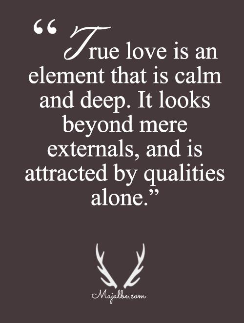 Beyond Mere Externals