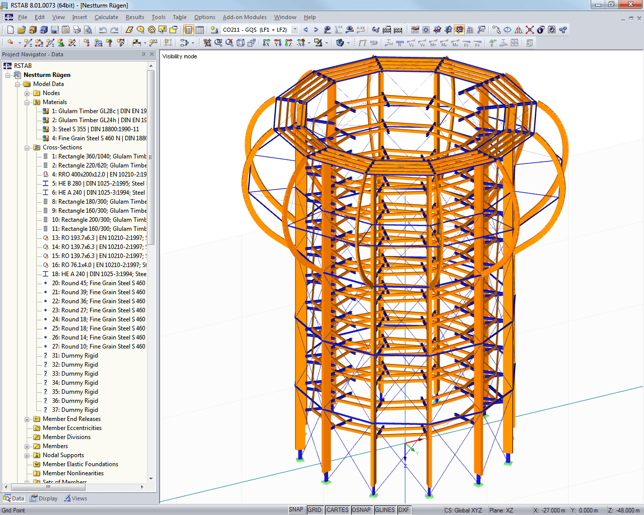 Dlubal RSTAB: Structural Frame and Truss Analysis UpDated