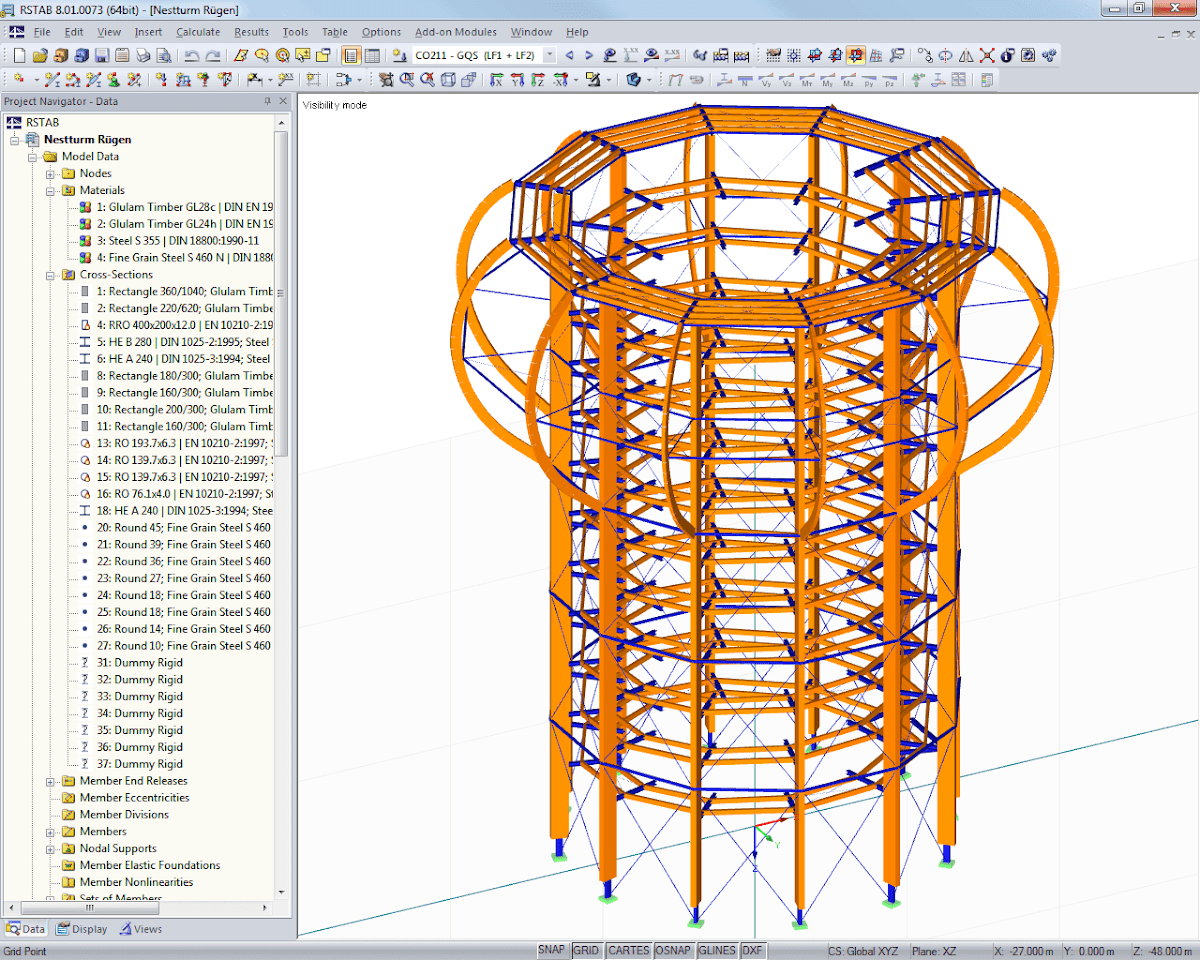 Dlubal RFEM: FEM Structural Analysis Software UpDated | the Society