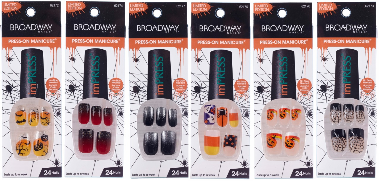 Get spooky with a Halloween imPRESS by Broadway Press-On ...