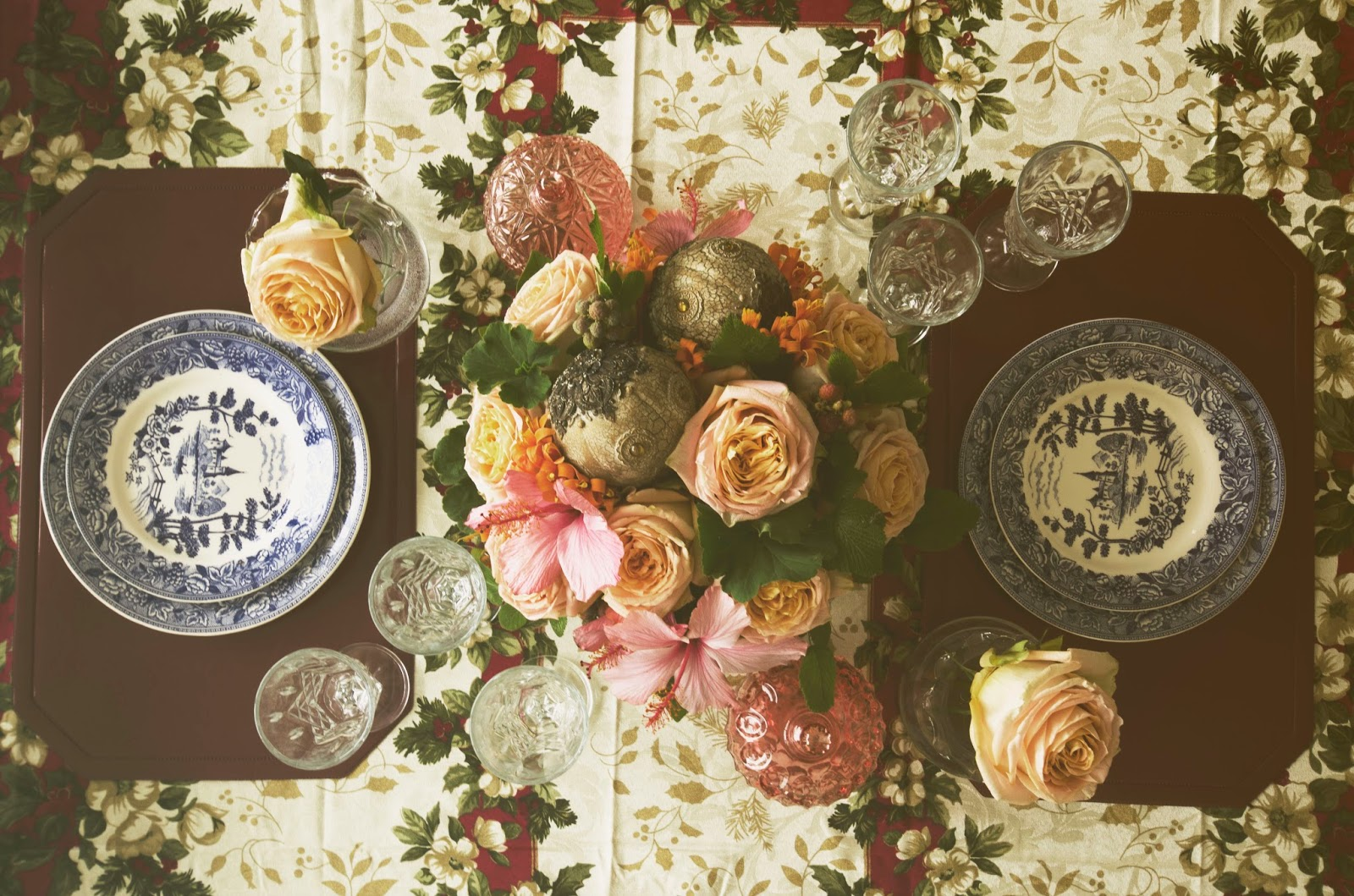 Como decorar la mesa de comedor en navidad