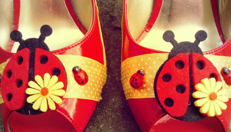 Upcycled shoes