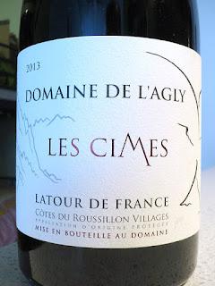 Domaine de l'Agly Latour de France Les Cimes 2013 (90 pts)