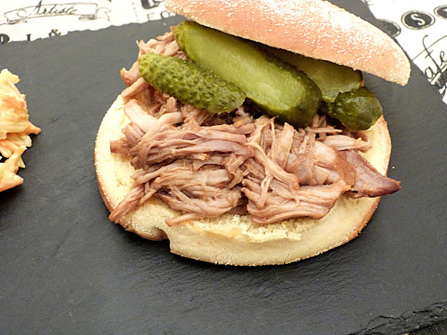 Burger de pulled pork