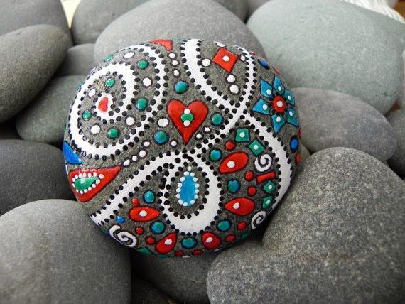 Tas Boyama Susleme Sanati Turk El Sanatlari Ve Hobiler