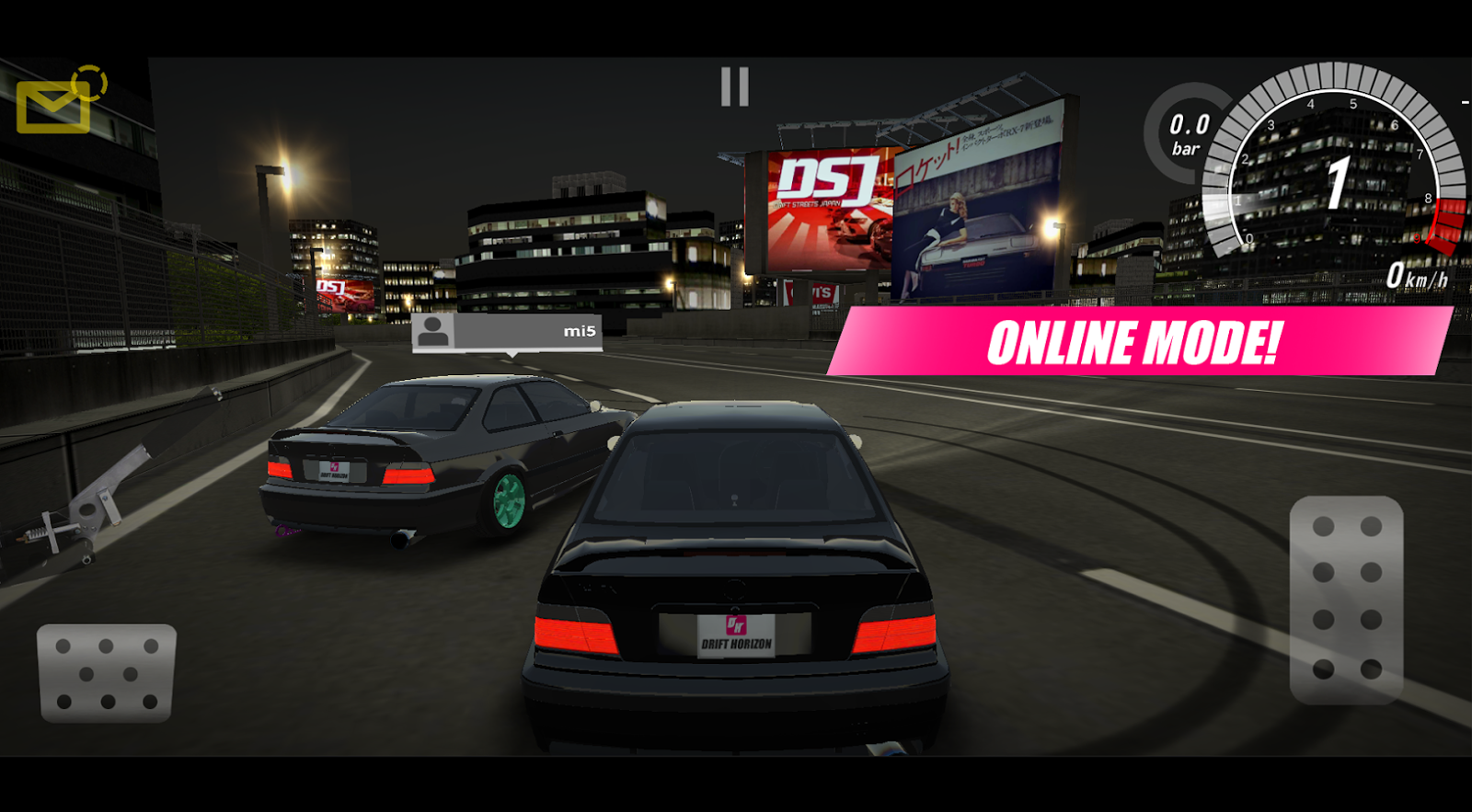 Drift Horizon Online 3D Turbo Real Car Drifter MOD APK Terbaru