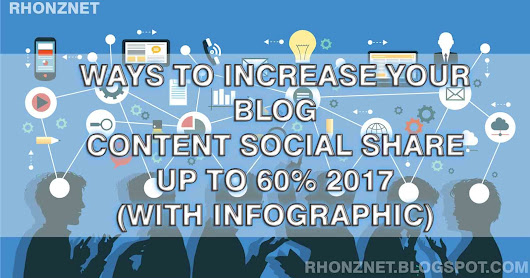 Increase your Blog Content social share up to 60% 2017 (With Infographic)
