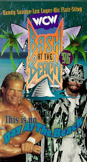 WCW REVIEW - BASH AT THE BEACH 1996 - EVENT POSTER