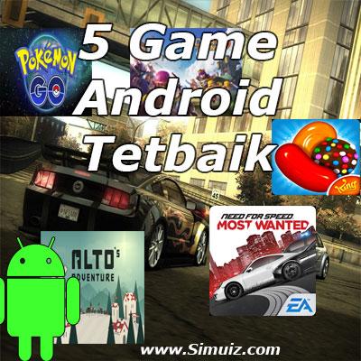 kumpulan game android terbaik dan terkeren 2016
