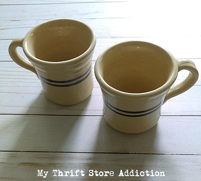 farmhouse pottery mugs