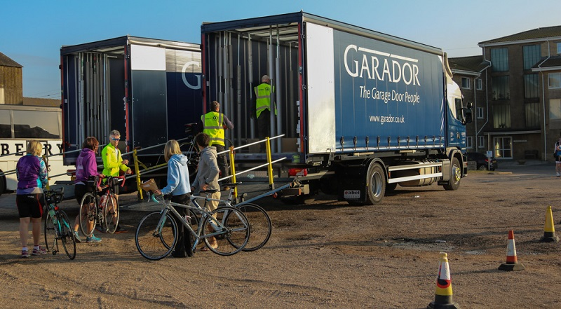 ... More Than Deliver New Garage Doors. Recently, They Were Used To Deliver  Over 500 Bikes To Their Riders So They Could Take Part In A Recent Big Coast  ...