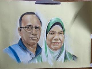 soft pastel on paper murah