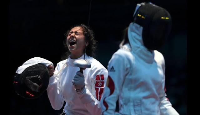 Escrime : Sarra Besbes médaillée d'or au tournoi de Doha