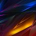 Plano de Fundo Abstrato Polígonos Coloridos