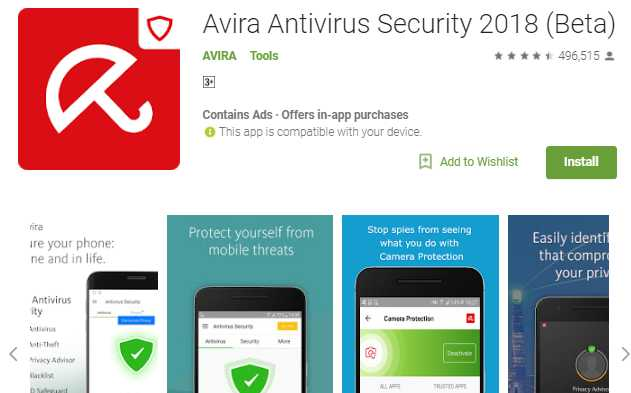Avira Antivirus Scurity