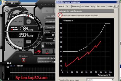 تحميل برنامج Msi Afterburner-003 لكسر سرعة كارت الشاشة مع الشرح