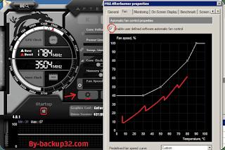 تحميل برنامج Msi Afterburner لكسر سرعة كارت الشاشة مع الشرح