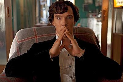 Benedict Cumberbatch as Sherlock Holmes in BBC 'Sherlock'