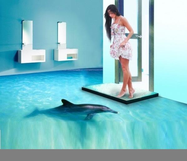 3D Bathroom Floor Images. Bathroom 3D Floor Designs