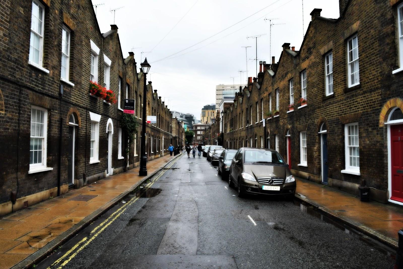 Roupell Street Waterloo London