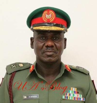 Buratai's vehicle involved in crash, ADC injured
