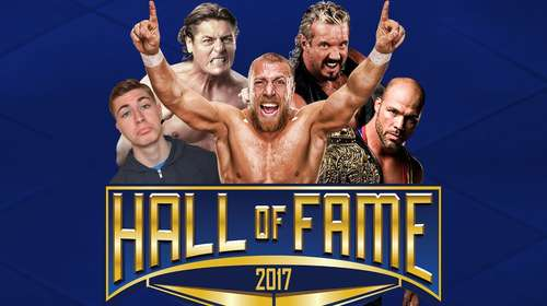 Poster Of WWE Hall of Fame 2017 HDTV 480P 300MB