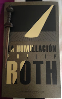 Portada del libro La humillación, de Philip Roth