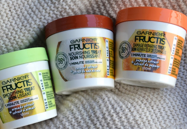 Garnier Fructis 1 Minute Hair Mask Review