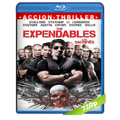 Los Indestructibles (2010) BRRip 720p Audio Trial Latino-Castellano-Ingles 5.1