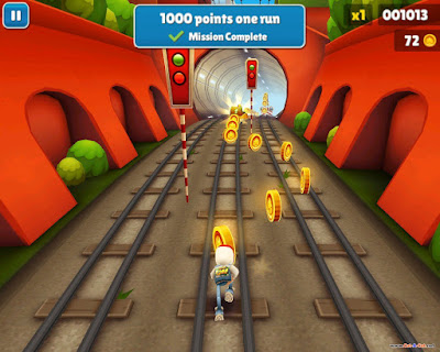 تحميل لعبة Subway surfers للأندرويد والأيفون