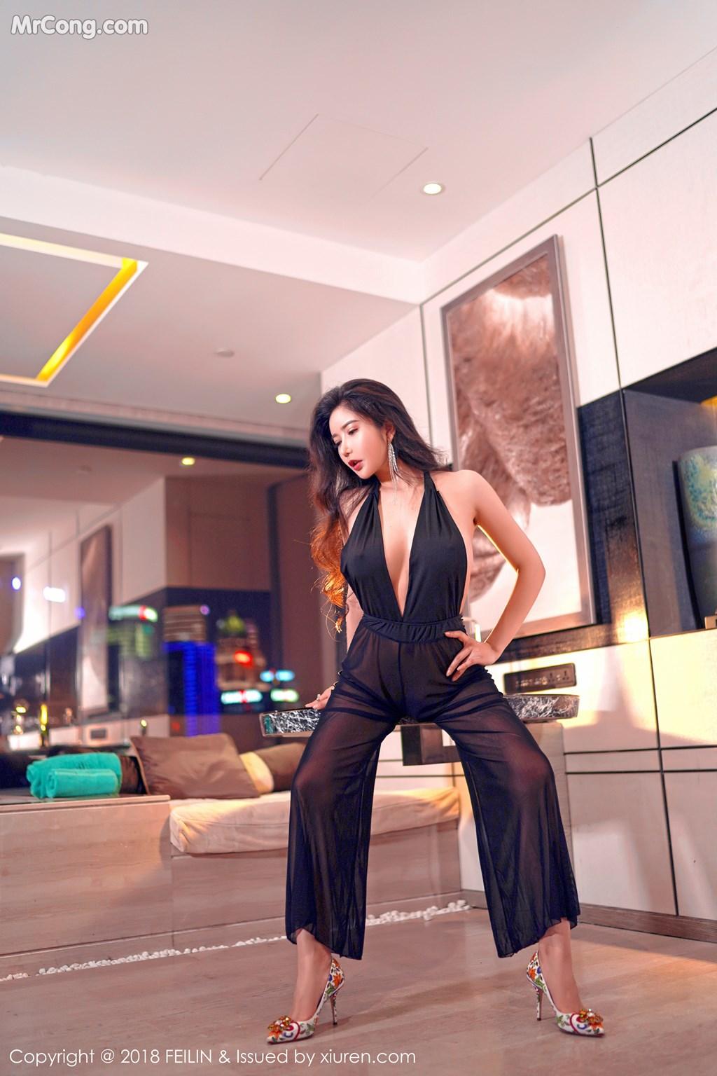 Image FEILIN-Vol.130-Xin-Yan-Gong-Zhu-MrCong.com-002 in post FEILIN Vol.130: Người mẫu Xin Yan Gong Zhu (心妍公主) (39 ảnh)