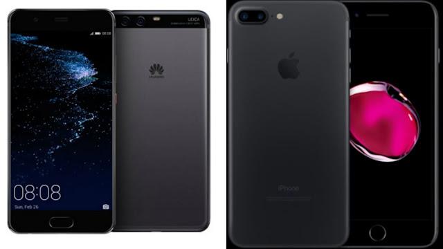 iPhone 7 Plus و Huawei P10