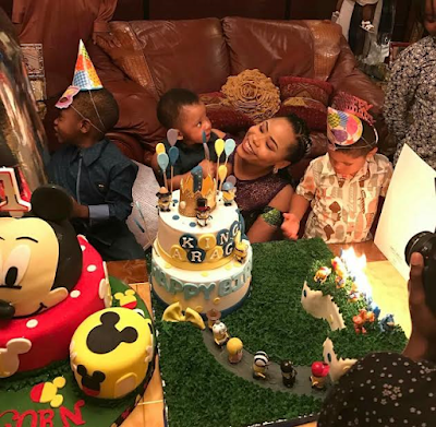 Lovely photos from the 1st birthday party of Femi Fani-Kayode's son