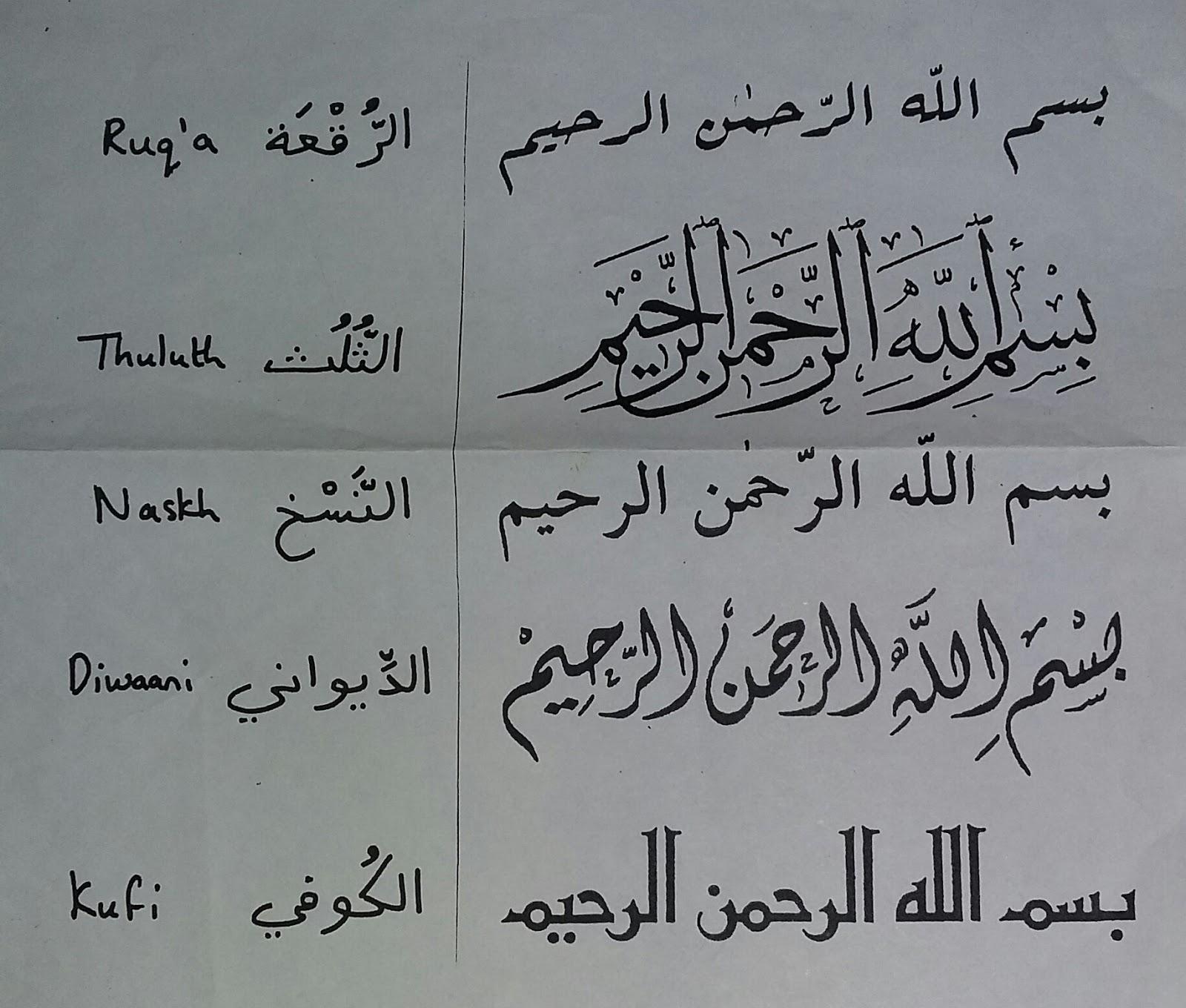 Majeedi script