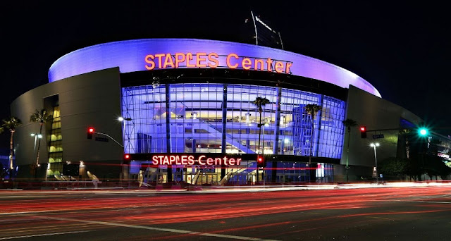 Staples Center para assistir o Los Angeles Lakers da NBA