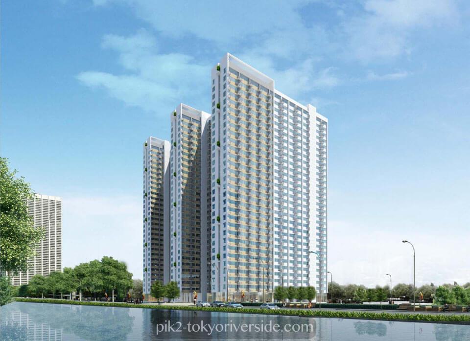 Apartemen Osaka Riverview PIK 2