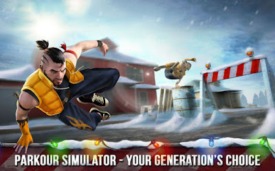 تحميل لعبة المحاكات Parkour Simulator 3D v1.4.0 مهكرة  اخر اصدار