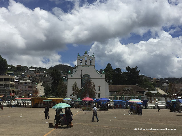View of San Juan Chamula's church, Chiapas