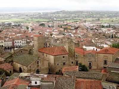 Vista de Trujillo desde el Campanario