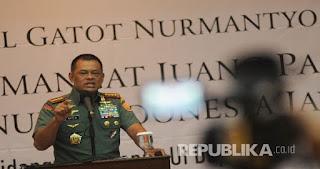GEGER! Panglima TNI Jadi Sorotan Media Internasional, Begini Beritanya
