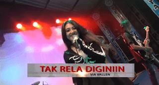Lirik Lagu Tak Rela Diginiin - Via Vallen