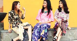 Baju Kebaya Kutu Baru Remaja Motif Bunga Tahun 2016