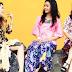 Trend Kebaya Kutu Baru Remaja Motif Bunga Emboss Tahun 2016