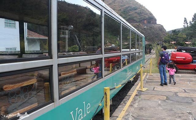 Vagão Panorâmico do Trem da Vale, Ouro Preto, MG