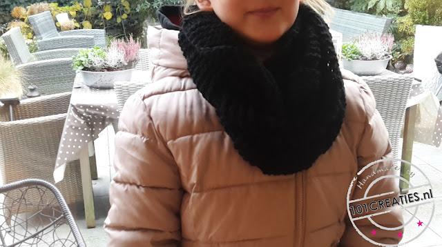 gebreide sjaal (col)