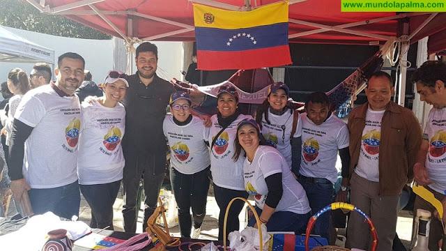 La Asociación Venezolano-Canaria Salto del Ángel  se suma al I gastromercadillo solidario por Venezuela