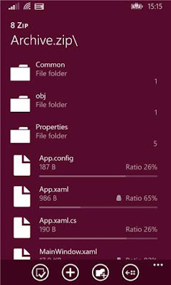 Download 8 Zip APPX For Windows Phone