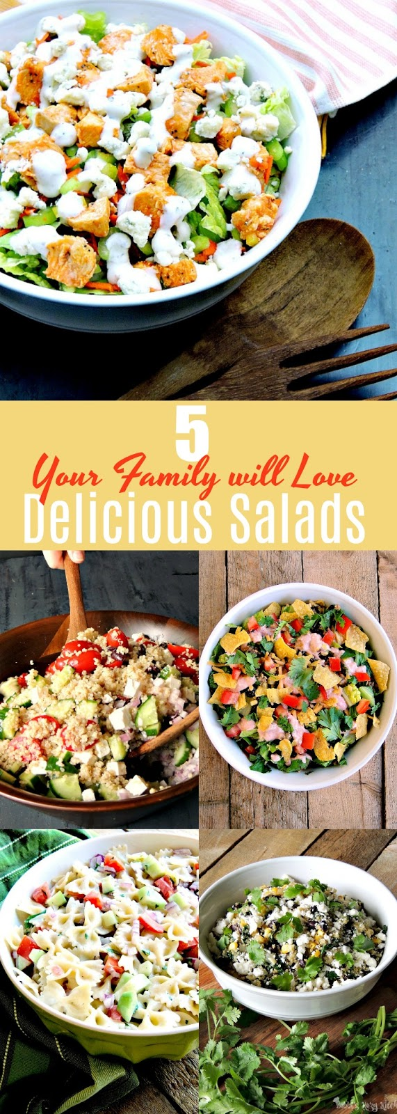 5 Amazing Salads Your Whole Family Will Love to Eat!